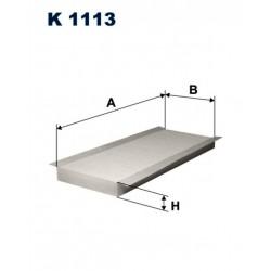 FILTR KABINY 338 521 ZAMIENNIK FILTRONA K1113