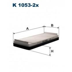 FILTR KABINY 338 551 ZAMIENNIK FILTRONA K1053-2X