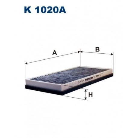 FILTR KABINY 338 577 ZAMIENNIK FILTRONA K1020A