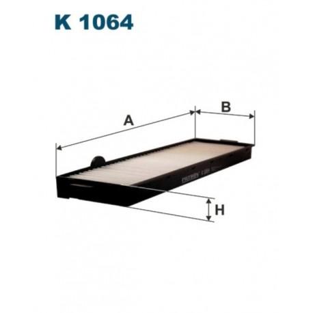 FILTR KABINY 338 591 ZAMIENNIK FILTRONA K1064