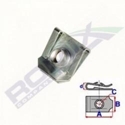 BLASZKA MONTAŻOWA UCHWYTU LAMPY M5 10 SZT ROMIX C70503