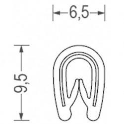 USZCZELKA UNIWERSALNA PCW 1-2 MM BIAŁA 1 METR RS34.3444
