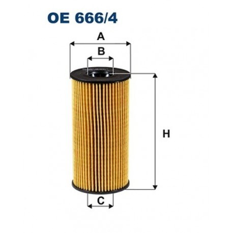 FILTR OLEJU FILTRON OE666/4