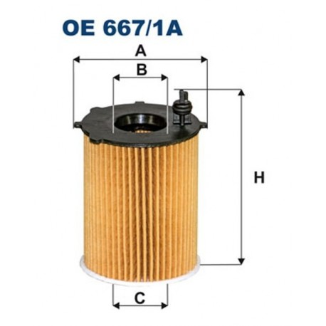 FILTR OLEJU FILTRON OE667/1A
