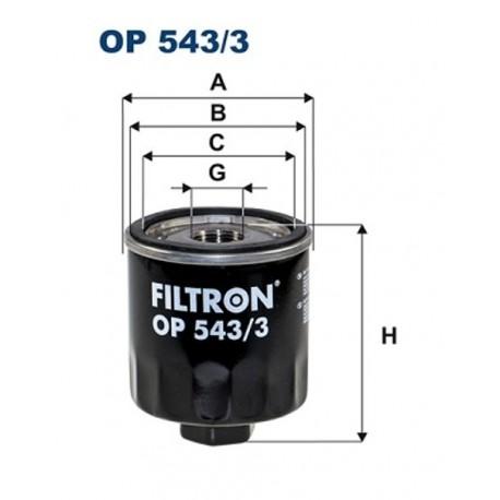 FILTR OLEJU FILTRON OP543/3