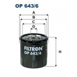 FILTR OLEJU FILTRON OP643/6