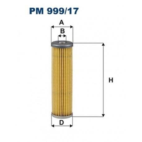 FILTR PALIWA FILTRON PM999/17
