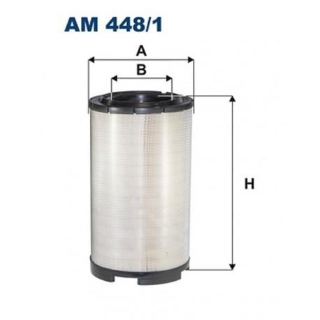 FILTR POWIETRZA FILTRON AM448/1