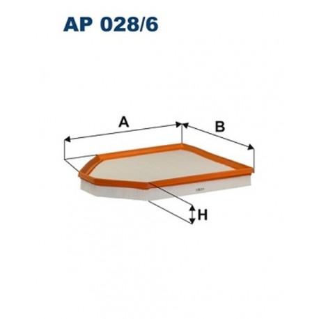 FILTR POWIETRZA FILTRON AP028/6