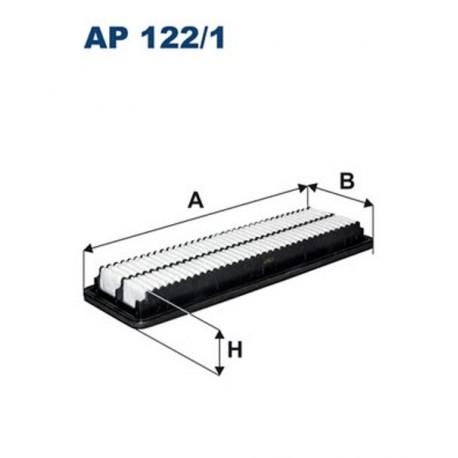 FILTR POWIETRZA FILTRON AP122/1