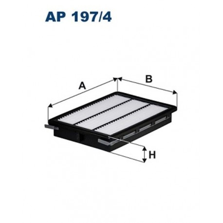 FILTR POWIETRZA FILTRON AP197/4