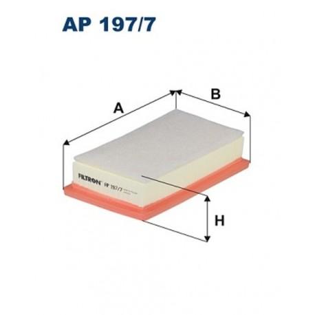 FILTR POWIETRZA FILTRON AP197/7