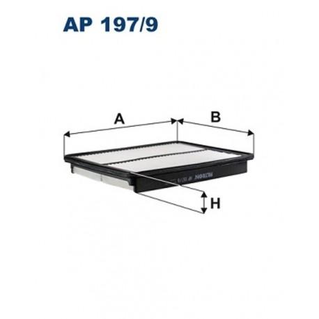 FILTR POWIETRZA FILTRON AP197/9