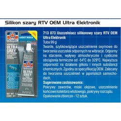 SILIKON SZARY RTV PERMATEX 85 G