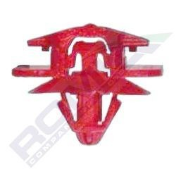 SPINKA LISTWY CLIO II CZERWONA 10 SZT. ROMIX 12444