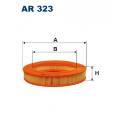 FILTR POWIETRZA WT288014 ZAMIENNIK FILTRONA AR 323