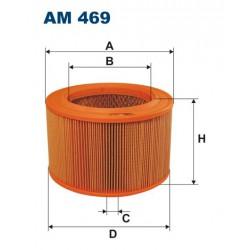 FILTR POWIETRZA WT266003 ZAMIENNIK FILTRONA AM 469