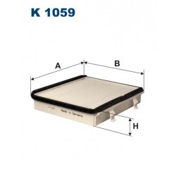 FILTR KABINY WT312015 ZAMIENNIK FILTRONA K 1059
