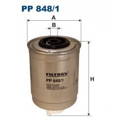 FILTR PALIWA WT89210 ZAMIENNIK FILTRONA PP 848/1