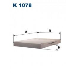 FILTR KABINY WT342020 ZAMIENNIK FILTRONA K 1078