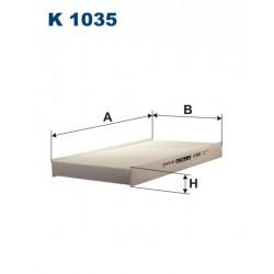 FILTR KABINY WT341003 ZAMIENNIK FILTRONA K 1035