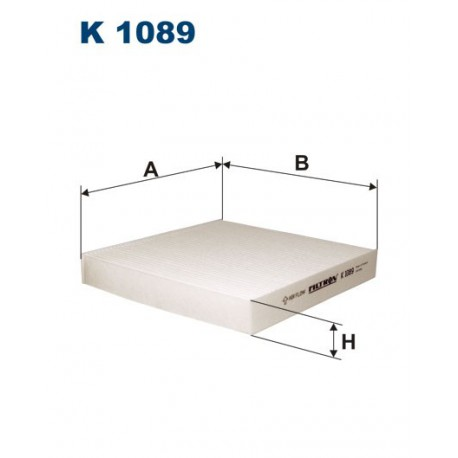 FILTR KABINY WT336014 ZAMIENNIK FILTRONA K 1089