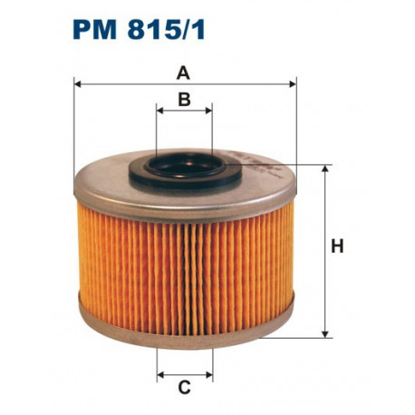 FILTR PALIWA WT89433 ZAMIENNIK FILTRONA PM 815/1