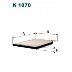 FILTR KABINY WT336016 ZAMIENNIK FILTRONA K 1070