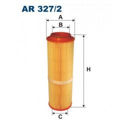 FILTR POWIETRZA WT228081 ZAMIENNIK FILTRONA AR 327/2