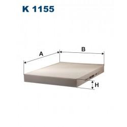 FILTR KABINY 338479 ZAMIENNIK FILTRONA K 1155