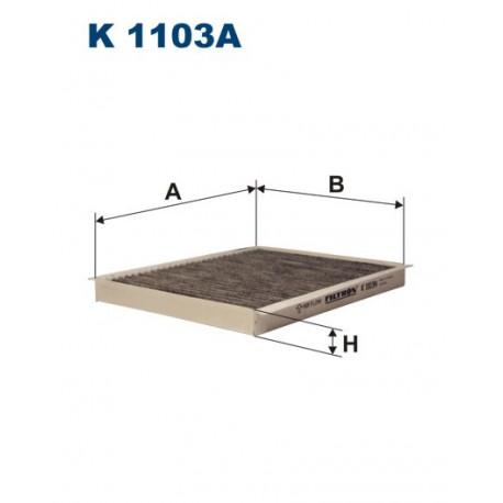 FILTR KABINY 338492 ZAMIENNIK FILTRONA K 1103A