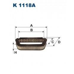 FILTR KABINY 338499 ZAMIENNIK FILTRONA K 1118A