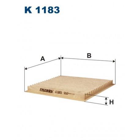 FILTR KABINY 338529 ZAMIENNIK FILTRONA K 1183