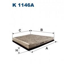 FILTR KABINY 338548 ZAMIENNIK FILTRONA K 1146A