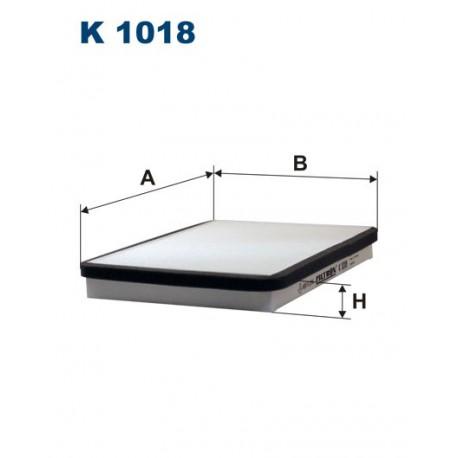 FILTR KABINY 338576 ZAMIENNIK FILTRONA K 1018