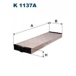 FILTR KABINY 338580 ZAMIENNIK FILTRONA K 1137A