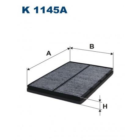 FILTR KABINY 338585 ZAMIENNIK FILTRONA K 1145A
