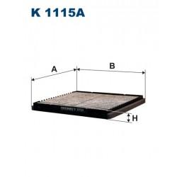 FILTR KABINY 338588 ZAMIENNIK FILTRONA K 1115A