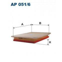FILTR POWIETRZA 340827 ZAMIENNIK FILTRONA AP 051/6